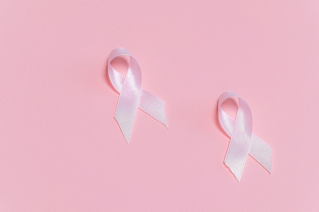 Pink ribbons for Breast Cancer Awareness Month