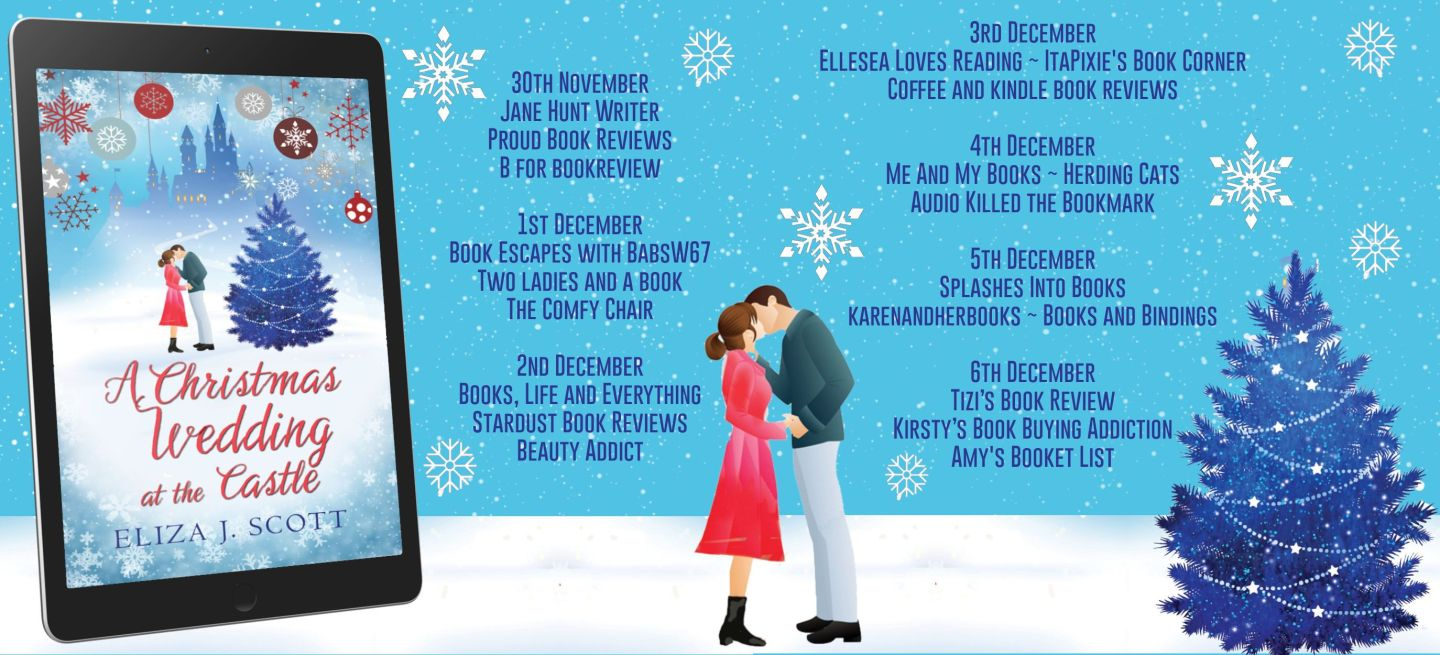 A Christmas Wedding at the Castle Full Blog Tour Banner