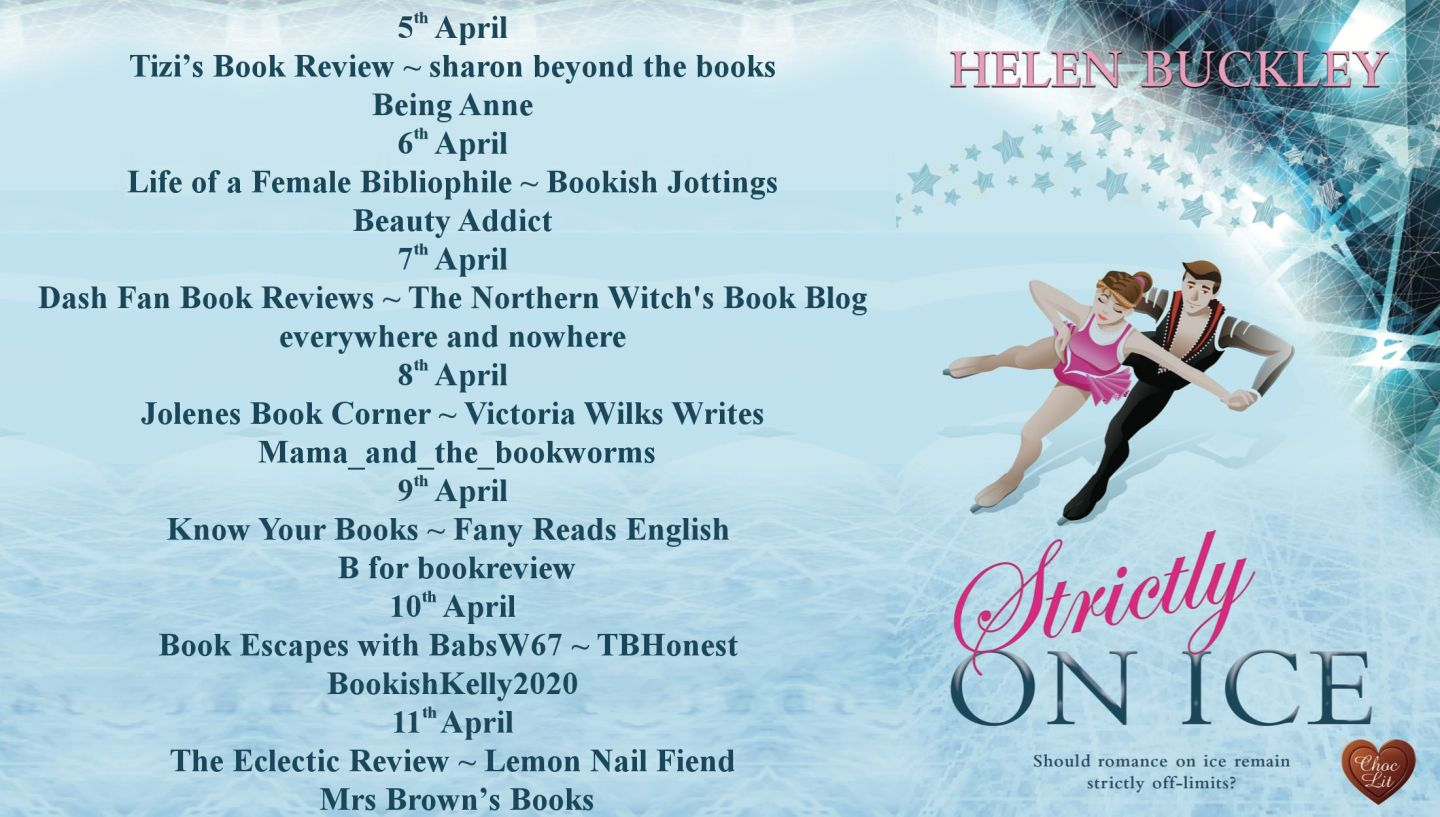 Strictly On Ice Full Blog Tour Banner