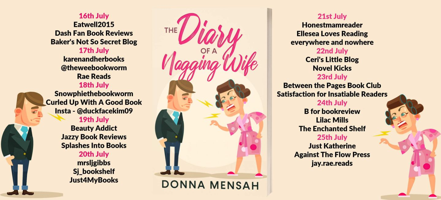 The Diary of a Nagging Wife Full Tour Banner