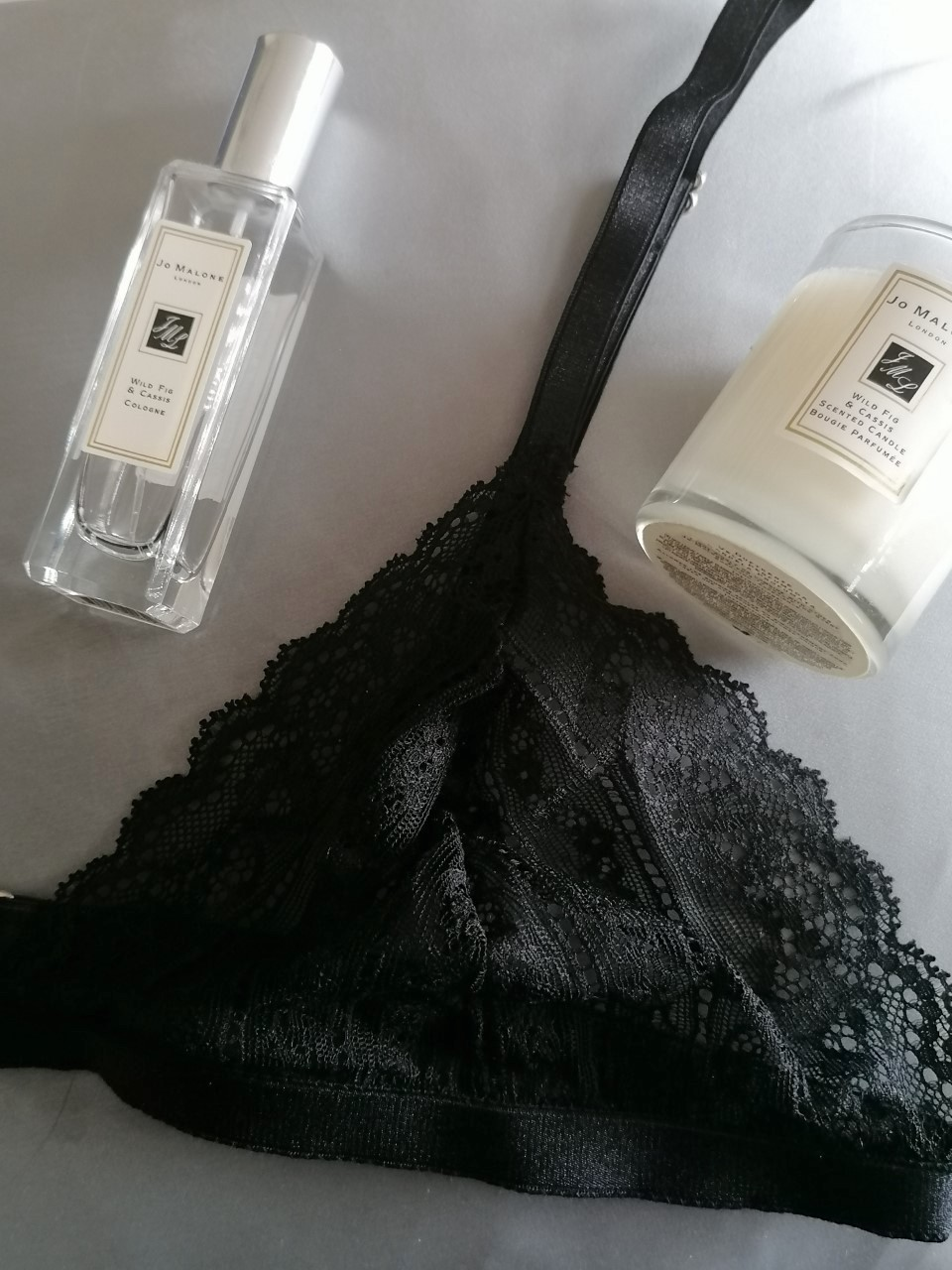 Black Lace Bra from Identity Lingerie