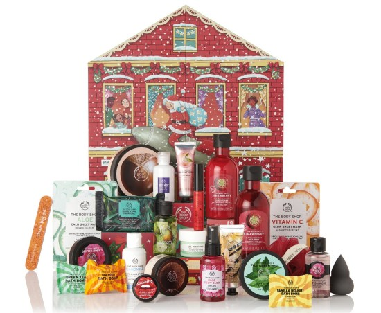 The Body Shop Deluxe Advent Calendar 2019