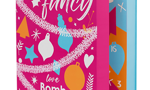 Tinsel My Fancy Bomb Cosmetics Advent Calendar 2019