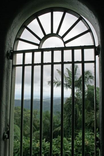Castle window, Puerto Rico
