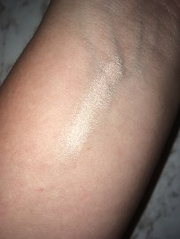 Pale skin with flash