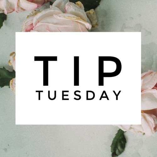 tip tuesday: conditioning cleansers
