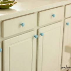 Kitchen Cabinet Knobs Cost Remodel Spray Painting Good Enough Things Jen Schmidt If