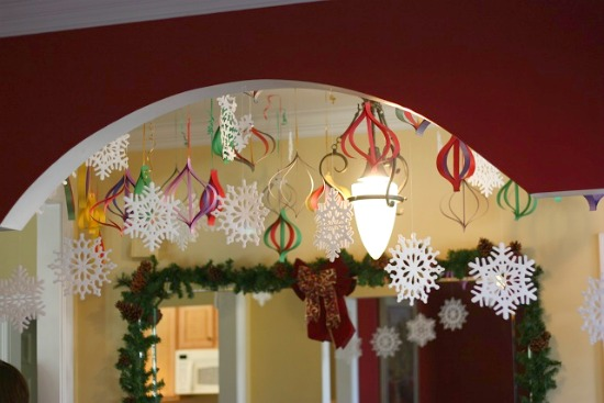 High Impact, Low Budget, Paper Craft Decorations