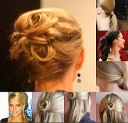 easy hairstyles - balancing