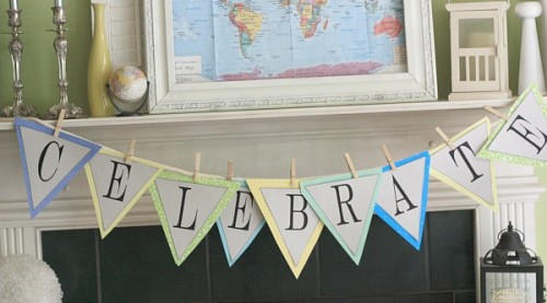 Free Printable Banner Templates Alphabet With Different