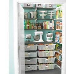 Kitchen Pantry Organization Ideas Home Depot Cabinet Refacing Realistic Tips Clutter Countdown Jen Schmidt Gorgeous Inspiration