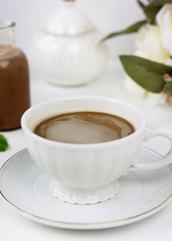 Peppermint Mocha Coffee Creamer Beauty and Blooms
