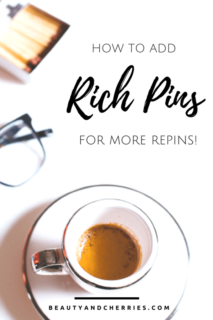 The EASY way To Add Rich Pins To Your Blog