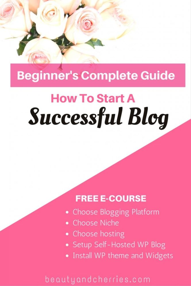 start a successful wordpress blog