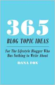 365 Blog Topic Ideas For The Lifestyle Blogger Who Has Nothing to Write About_Books Bloggers