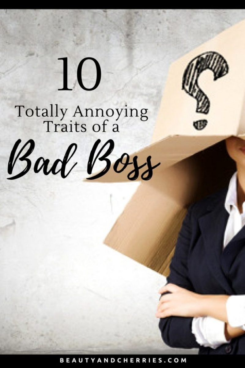 bad boss reason why employees quit