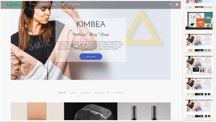 Kimbea WordPress Theme