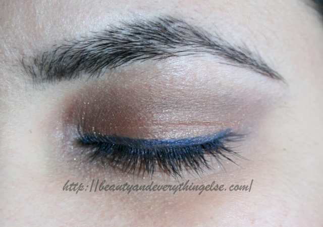 Neutral brown eye makeup