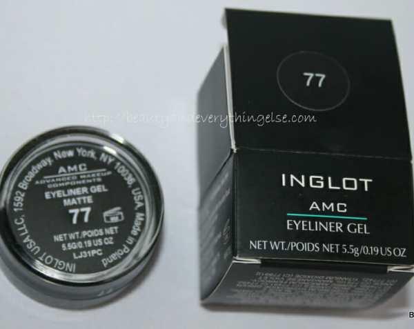 Inglot Matte Collection AMC Eyeliner Gel in 77