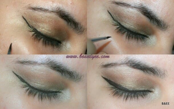 How to apply a wing liner