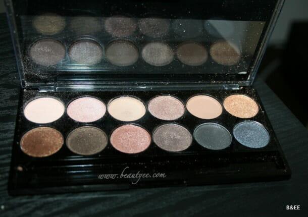 MUA undressed palette