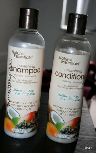 Natural Essentials nourishing Shampoo & Conditioner.