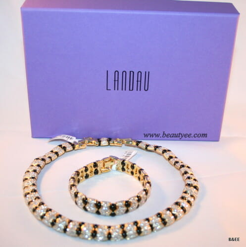A lovely necklace & bracelet from LAndau semi precious jewelry collection