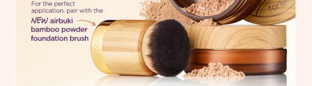 Tarte New airbrush powder foundation