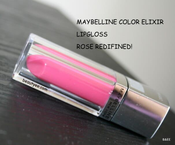 MAYBELLINE COLOR ELIXIR LIP COLOR - ROSE REDEFINED