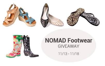 Nomad Giveaway