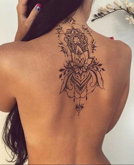Tatuajes En La Espalda Para Mujeres 9 Beauty And Fashion Ideas
