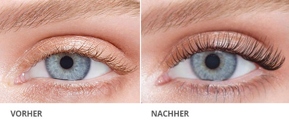 wimpernliftingvorhernachher  Beauty  Glam