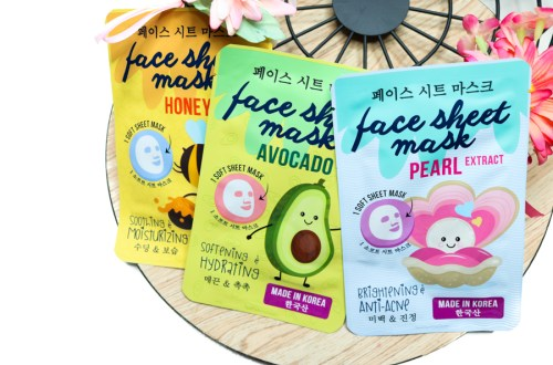 Korean sheet maskers