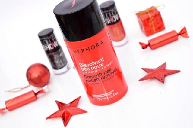 Sephora Smooth Nail Polish Remover