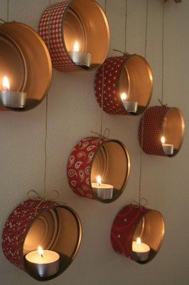 tin-cans-wall-decoration