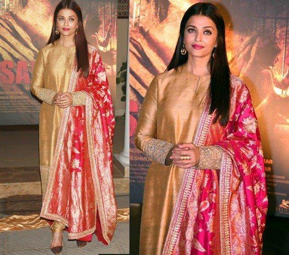 aishwarya-rai diwali outfit inspiration