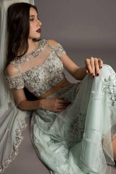 cold-shoulder-bridal-lehenga-designs