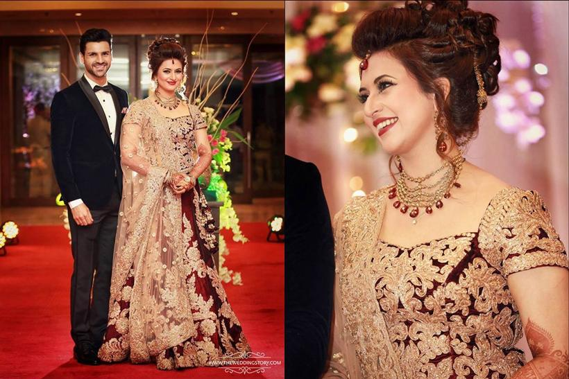 Long Choli Lehenga Design Inspired by Divyanka Tripathi