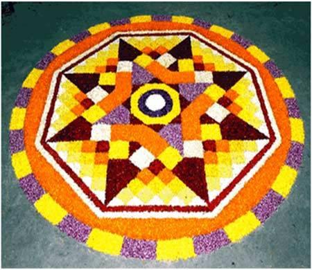 Colorful Rangoli for Diwali