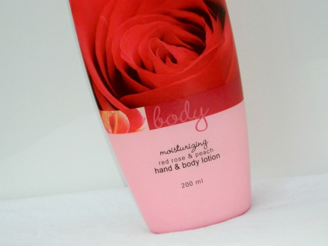 Avon Red Rose and Peach Hand and Body Lotion Review