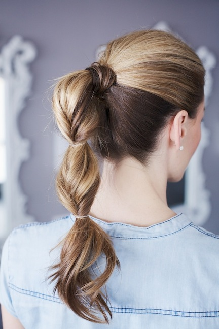 5 simple hairstyles lazy hair