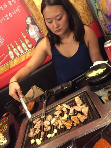Korean BBQ Queen Pig Konkuk Univerity