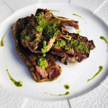 SHOULDER CUT LAMB CHOPS