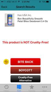 not cruelty free cc screen