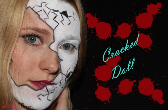 Cracked Doll [Halloween Look - Blogparade] | Beauty and the beam