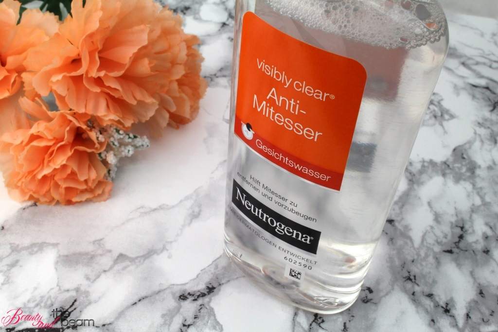 Neutrogena Anti-Mitesser Gesichtswasser [Review]