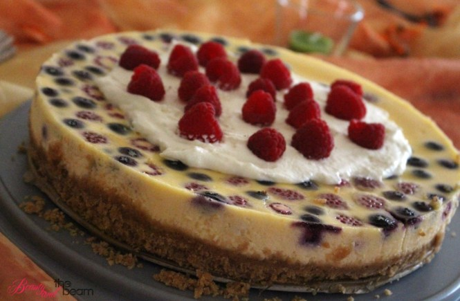 American Cheesecake mit Beeren [Rezept] | Beauty and the beam