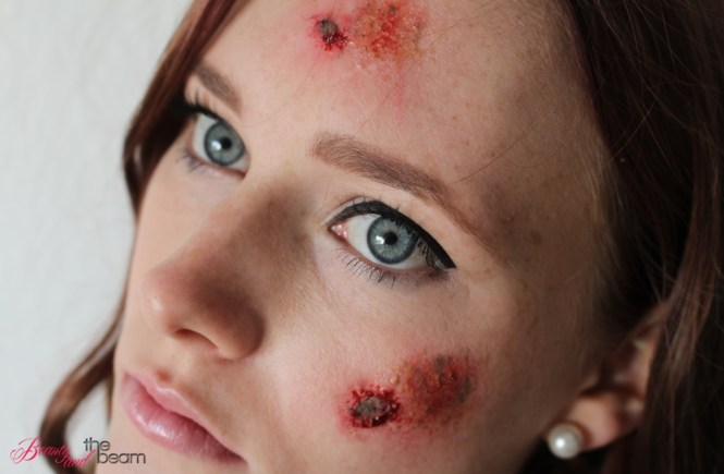 Schürfwunden Tutorial [Halloween SFX Make Up] | Beauty and the beam
