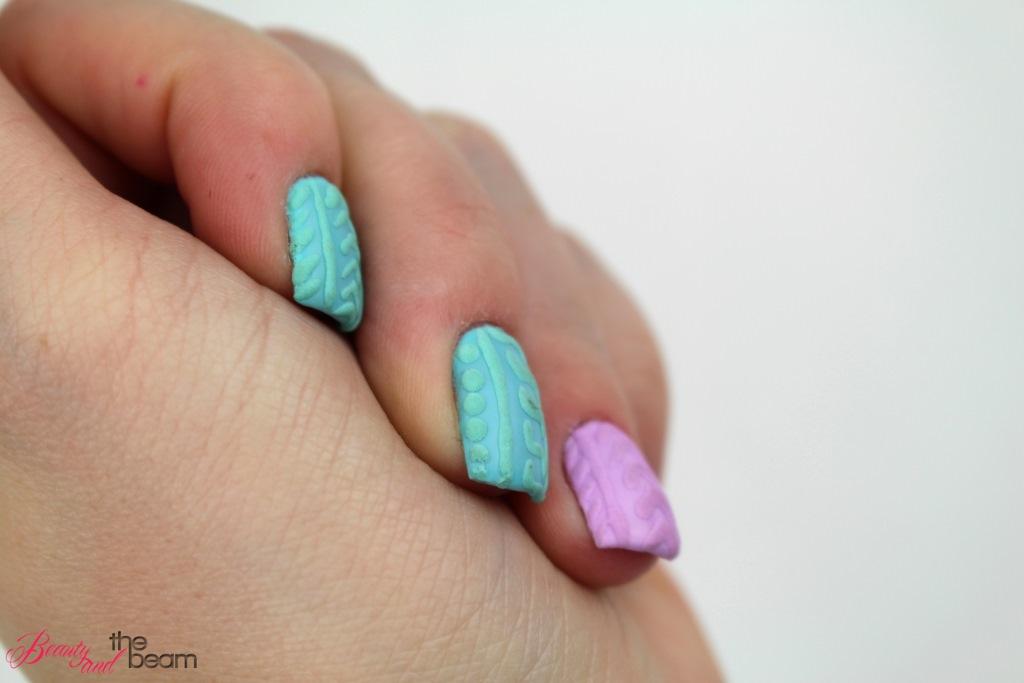 Knit Nails Strick Nagel Tutorial