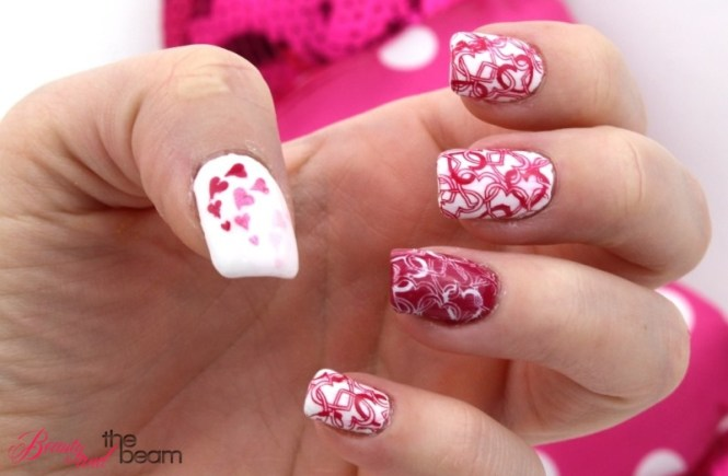 Valentinstags Nageldesign | Beauty and the beam